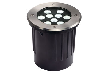 230151 dasar 9x1w led outdoor recessed lights