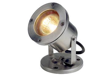 229090 Nautilus Mr16 Stainless Steel Outdoor Spotlights